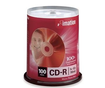 IMATION CD-R 100 SPINDLE