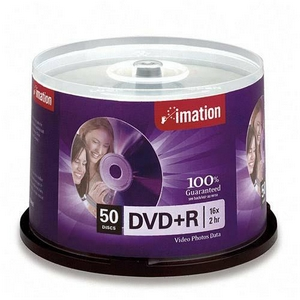 IMATION DVD+R 50PK SPINDLE